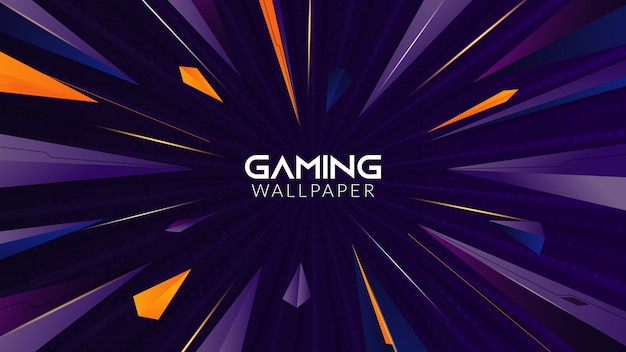 Geometric abstract gaming background
