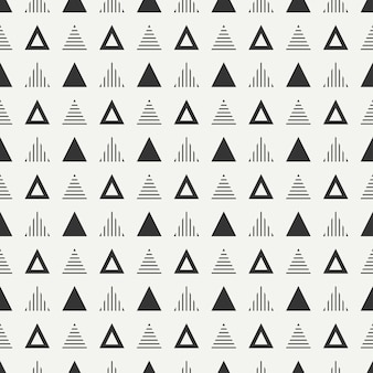 Geometric abstract hipster seamless pattern