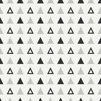 기하학적 추상 hipster 원활한 패턴