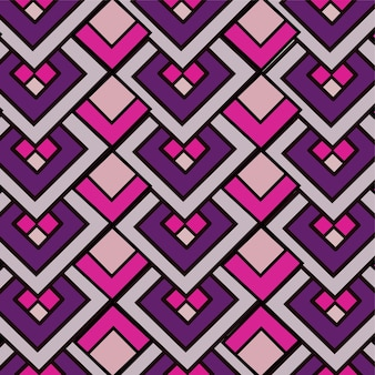 Geometric in abstract pattern design background