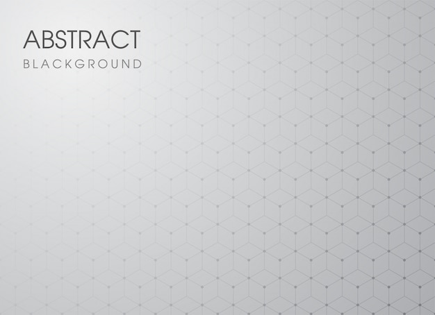 Geometric abstract pattern on gray gradient background.