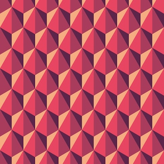 Geometric abstract pattern of hexagons. seamless background in polygonal style.