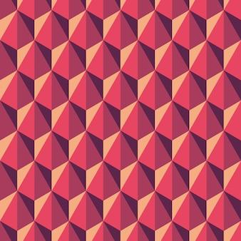 Геометрический абстрактный узор из шестиугольников. бесшовный фон в многоугольном стиле.