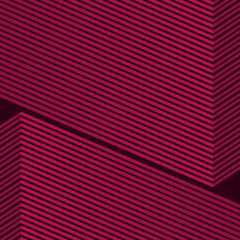 Geometric abstract red line background