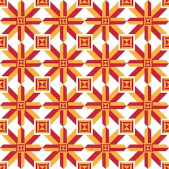 기하학적 추상 반복 다채로운 원활한 패턴