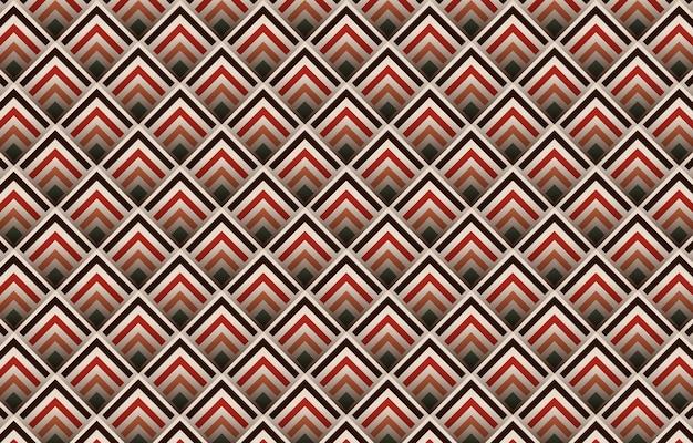 Геометрические абстрактные бесшовные модели дизайна с тенью. бохо ацтекский дизайн для ковров, обоев, одежды, упаковки, батика, ткани,