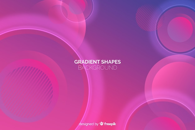 Geometric abstract shapes background