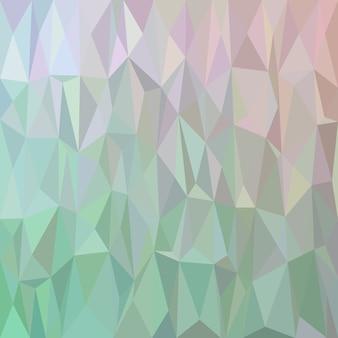 幾何学的な抽象的な三角形のタイルのパターンの背景 - 色付きの三角形からのポリゴンモザイクベクトル図
