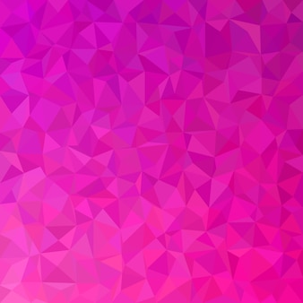 Geometric abstract triangle tile pattern background - polygon vector graphic from colored triangles