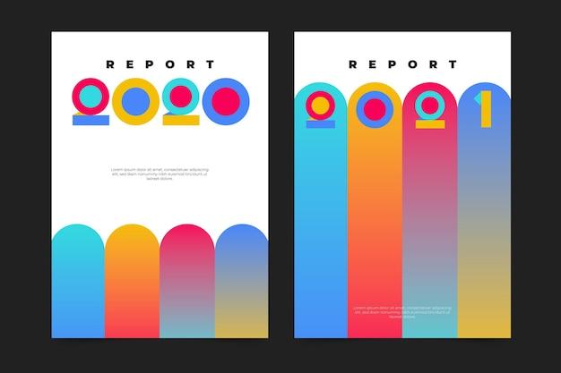 幾何学的な年次報告書
