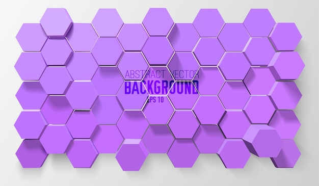 Geometric atomic abstract background