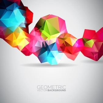 Geometric backgorund design