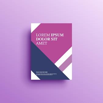 기하학적 배경 책 표지 브로셔 전단지 템플릿 표지 디자인