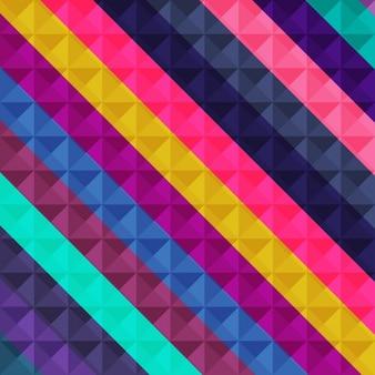Mosaico sfondo geometrico colorato