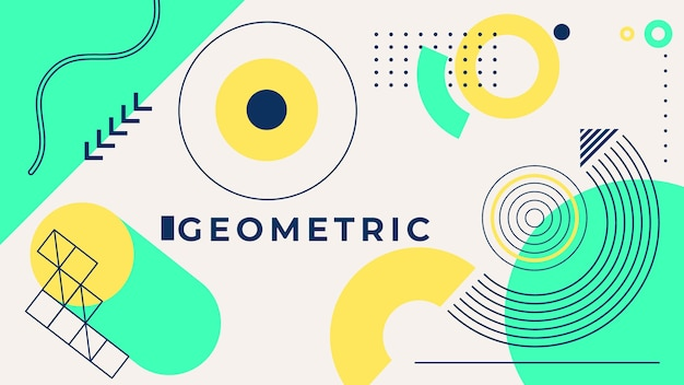 Geometric background concept