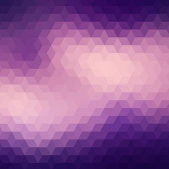 Geometric background in different purple tones