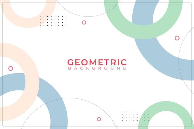 Geometric background minimalist