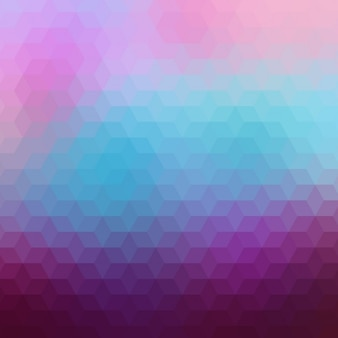 Geometric background in purple and blue