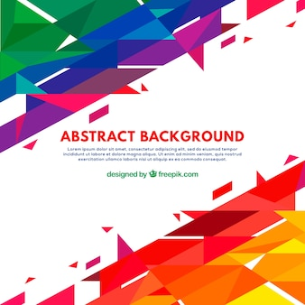 Geometric background with abstract style