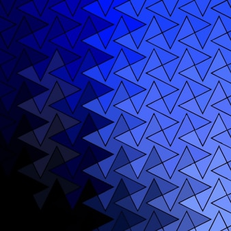 Geometric background with blue gradient