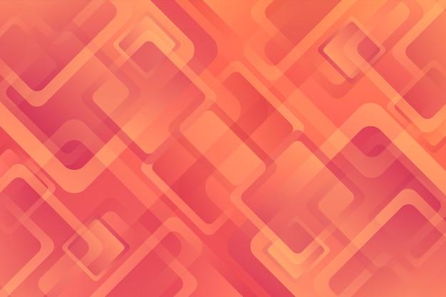 さまざまなグラデーションの形をした幾何学的な背景