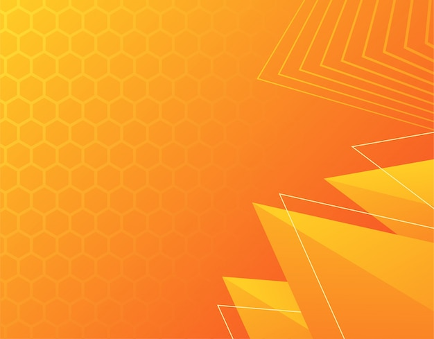 Geometric background with gradient, dynamic shapes, vector illustration