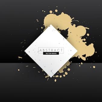 L'oro splash frame design
