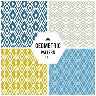 Geometric background with rhombus and nodes. abstract geometric pattern
