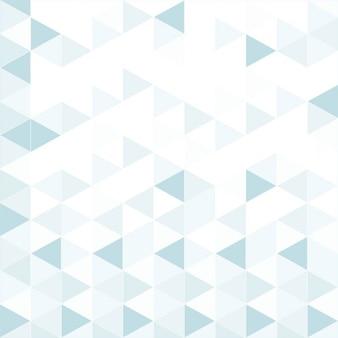 三角形と幾何学的な背景、青の色