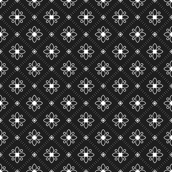 Geometric batik seamless pattern background. abstract wallpaper