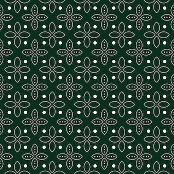 기하학적 바 틱 원활한 패턴 배경입니다.
