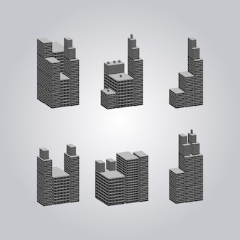Geometric building collection