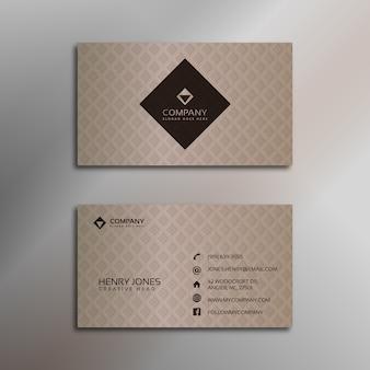 Geometric business cardq