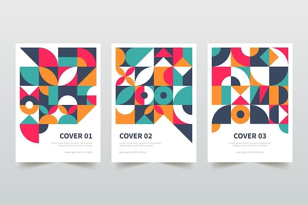 Коллекция геометрических бизнес-обложек