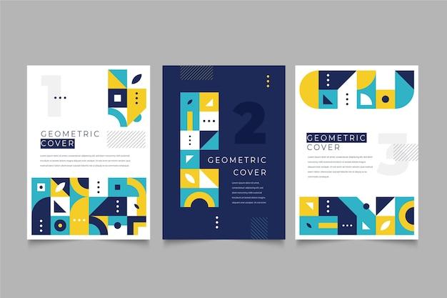 Геометрическая деловая обложка