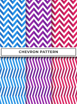 Geometric chevron zigzag seamless pattern