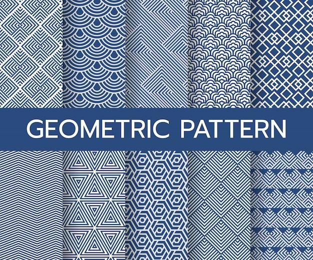 Geometric classic pattern