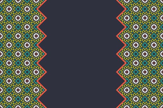 Геометрические красочные бесшовные линейные модели