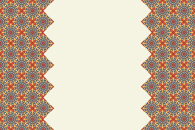 기하학적 다채로운 원활한 직계 패턴