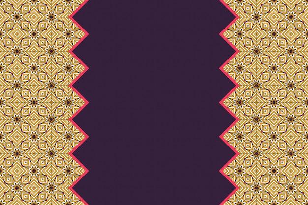 Geometric colorful seamless lineal pattern