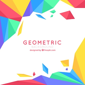 Geometric colourful background