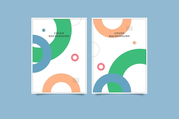Geometric cover design collection