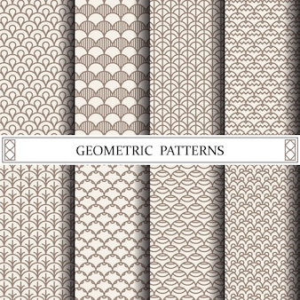 Geometric curve pattern, pattern fills, web page, background, surface and textures