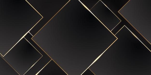 幾何学的な暗い素材の背景