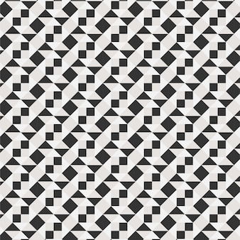Geometric diamond  tile minimal modern graphic pattern triangle line 3d vector pattern color black and white