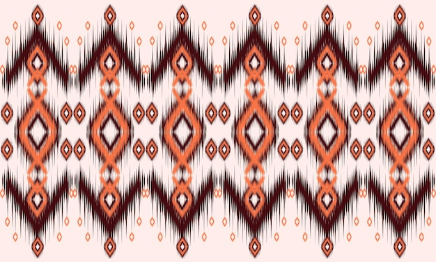 Geometric ethnic oriental pattern traditional design for background,carpet,wallpaper,clothing,wrapping,batik,fabric,vector illustration.embroidery style.