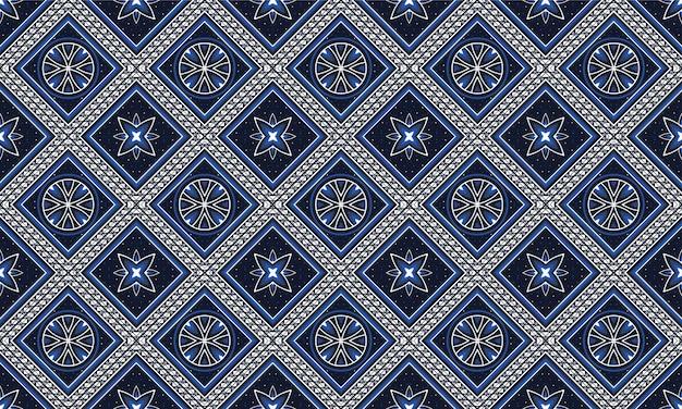 배경, 카펫, 벽지, 의류, 포장, 바틱, 직물, 벡터 illustration.embroidery 스타일에 대 한 기하학적 민족 동양 패턴 전통적인 디자인.