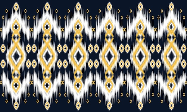 Геометрический этнический восточный узор традиционный дизайн для фона, ковер, обои, одежда, упаковка, батик, ткань, стиль векторные иллюстрации. вышивка.