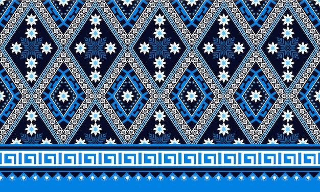 背景、カーペット、壁紙、衣類、ラッピング、バティック、ファブリック、ベクトルのillustration.embroideryスタイルの幾何学的なエスニックオリエンタルシームレスパターン伝統的なデザイン。