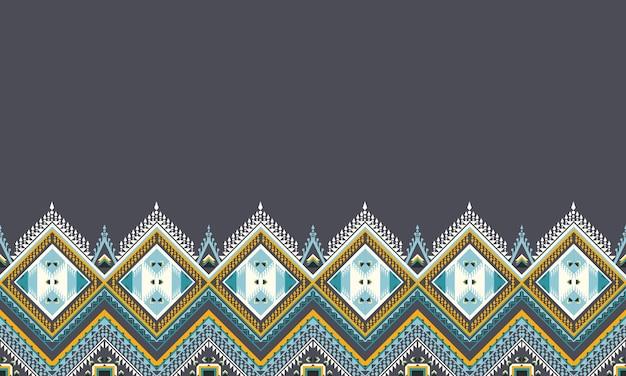 완벽 한 배경에 대 한 기하학적 민족 패턴 디자인입니다.